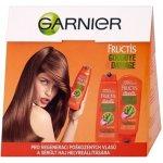 Garnier Fructis Goodbye Damage posilující šampon 250 ml + posilující balzám na vlasy 200 ml dárková sada
