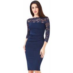 a44496b100 CityGoddess dámské midi šaty Violet navy modrá alternativy - Heureka.cz