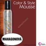 Omeisan Color & Style Mousse tužidlo (mahagonové) 200 ml