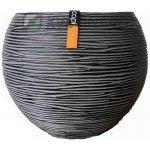 Capital Nature Rib Ball Black II 10x10x10cm