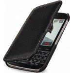 Pouzdro StilGut kožené Book Type s klipem BlackBerry Classic černé