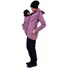 Jožánek softshellová bunda pro těhotné a nosící ženy růžovo fialová