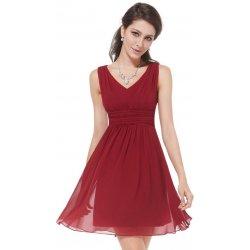 Ever Pretty plesové šaty krátké 3539 bordó od 1 290 Kč - Heureka.cz e7596141f5