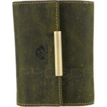 Greenburry Kožená peněženka 320-30 olivová