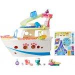 Hasbro LPS Hrací set Výletní loď se 3 zvířátky