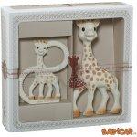 Vulli Dárkový set žirafa Sophie + kousátko