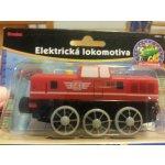 MAXIM Lokomotiva na baterie se zvukem - červená