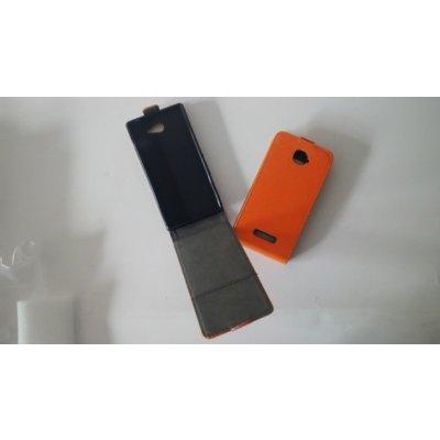 Pouzdro Forcell Flip Flexi Samsung G530 G531 Galaxy Grand Prime Oranžové