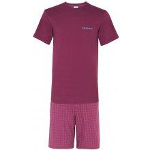 Calvin Klein pánské pyžamo M9470E vínová
