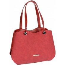 c7a0733e59 Grosso červená dámská vyztužená kabelka přes rameno