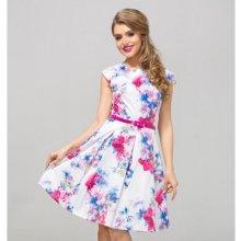455e35521ae0 Gotta šaty s květy Patricia GS10 barevná