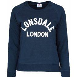beba6047af310 Lonsdale Crew Sweater Ladies Navy dámská mikina - Nejlepší Ceny.cz