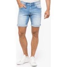 a82d7d25644 Pepe Jeans pánské světle modré džínové šortky Cane