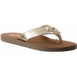 7b63430dda Dámská obuv Tommy Hilfiger dámské zlaté žabky Glitter