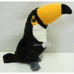 Tukan plyšový 27cm stojící
