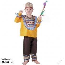 Šaty Indián dětský karnevalový kostým - Nejlepší Ceny.cz 4467e8a914
