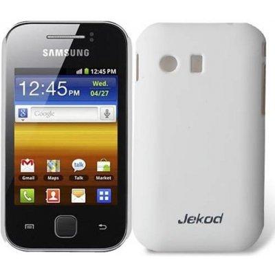 Pouzdro Jekod Super Cool Case Samsung S5360, S5363 Galaxy Y bílé