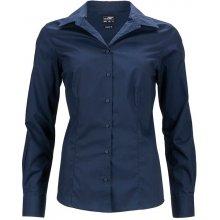 James   Nicholson dámská košile JN641 Tmavě modrá ad4c5e4017