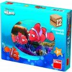 Dino Dřevěné kostky Nemo 12 ks