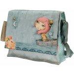 Santoro London taška přes rameno Mirabelle Adrift šedá/modrá/růžová