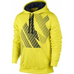 Nike pánská běžecká mikina Nike KO BLOCK HOODY Žlutá 543466-700 ... d2abdd73fa6
