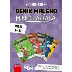 Deník malého Minecrafťáka BOX 1-5 - Kid Cube