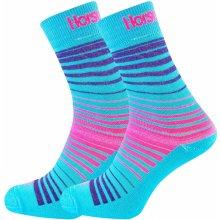 Horsefeathers ponožky CONTOUR blue