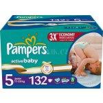 Pampers Active baby 5 junior 132ks