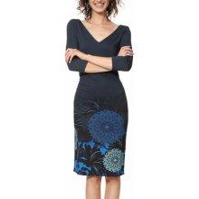 Desigual šaty Vest Florencia s mandalami modrá acb4a46b1bc