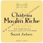 Moulin Riche Moulin Riche Cru Bourgeois / SaintJulien červené 2011 0,7 l