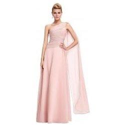 Šaty s přehozem přes rameno světle růžové alternativy - Heureka.cz 3e2e7ada79