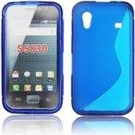 Pouzdro BACK S-line Samsung S5830 Galaxy Ace modré