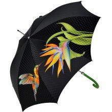 Doppler Luxusní dámský holový deštník Boheme Tropicale Manufaktur