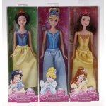 Mattel - Disney - Princess Princezna pohádková panenka Barbie