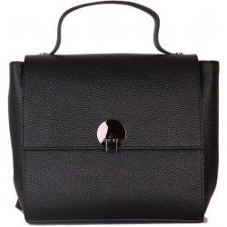 Černý kožený batoh a kabelka 2 v 1 Rosalinda alternativy - Heureka.cz 99edf9f600b