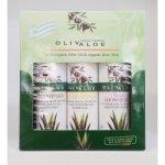 OlivAloe ® Natural cosmetics Kondicioner + Sprchový gel + Šampon na vlasy 3 x 90 ml dárková sada