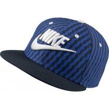 Nike TRUE-FUTURA AOP blue kšiltovka