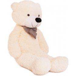 DORIS Velký plyšový medvěd 150 cm bílý