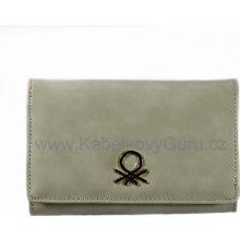 Benetton dámská peněženka Medium Flap 001černá