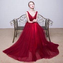 8381c809869 Luxusní dlouhé maturitní a plesové šaty 2505-005 rudé alternativy ...