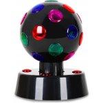 OneConcept Disco-Ball-4-B černá LED světelný efekt 13,5cm