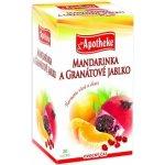 Apotheke Mandarinka a granátové jablko 20 sáčků