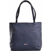 Bright Sportovní dámská kabelka přes rameno větší A5 čtvercová modrá