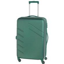 Travelite Tourer 4w M expandable Green