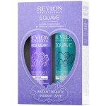 Revlon Professional EQUAVE INSTANT BEAUTY Sun kondicionér pro snadné rozčesávání vlasů 200 ml + hydratační šampon s keratinem 250 ml dárková sada