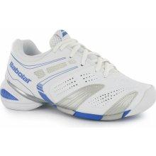 Babolat V Pro All Court Ladies Tennis Shoes White/Blue