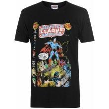 Character Justice League T Shirt Mens Superman Speech