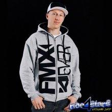 FMX4EVER Pimp Zip-Up Hoodie mikina Grey