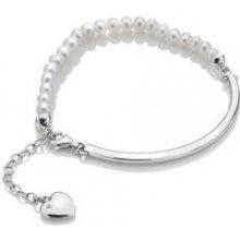 Stříbrný náramek Hot Diamonds Festival Mother of Pearl DL303
