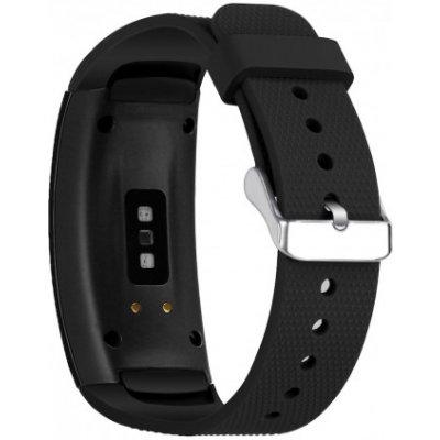 Samsung Gear Fit 2 Silicone Land řemínek, Black SSG005C01